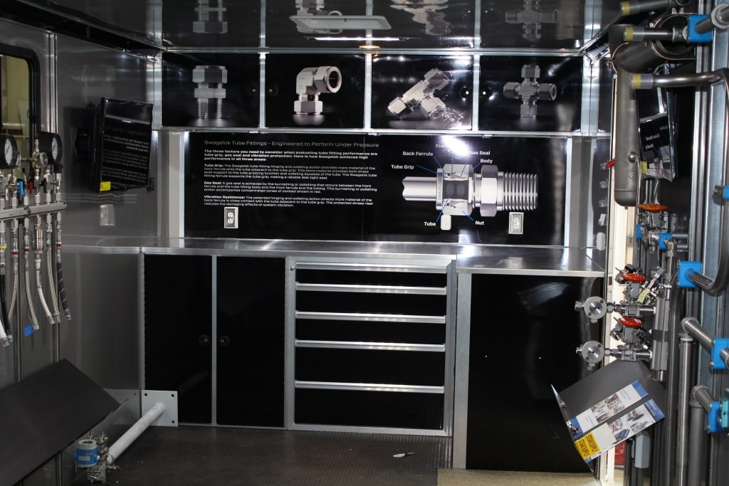 Interior Mobile Display Trailer 1